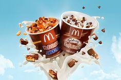 McDonald´s McFlurry Galaxy/Snickers on Behance
