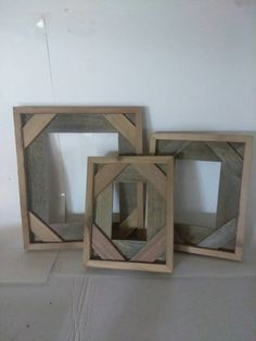"Barnwood Picture Frames – Rustic Reclaimed Wood 4"" x 6"" Country Design – Custom Order Any Size!"