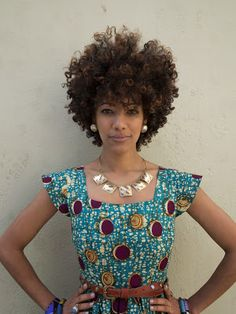 "African Prints in Fashion: Fashion for the Queen Bee: Interview with ""Royal Jelly Harlem"""