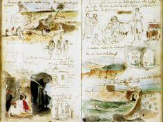Эжен Делакруа | XIXe | Eugene Delacroix (190 фото)
