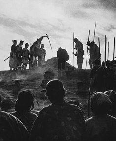 """""""The Seven Samurai"""" (1954, dir. Akira Kurosawa)"""