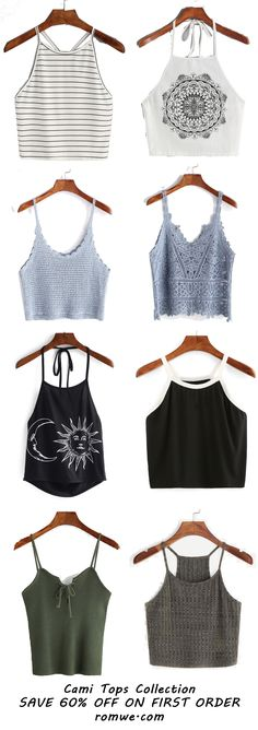 Cami Vests From romwe.com 2017