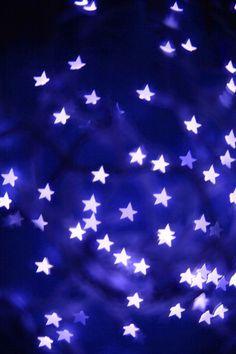 Stars in Blue / Sterne in Blau
