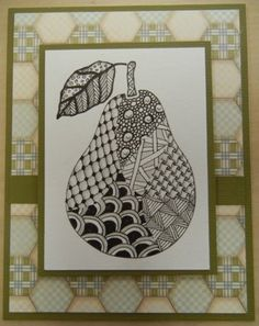 Zentangle Techniques- pinning for the pattern Tangle Doodle, Tangle Art, Zen Doodle, Doodle Art, Zentangle Drawings, Doodles Zentangles, Art Drawings, Doodle Patterns, Zentangle Patterns