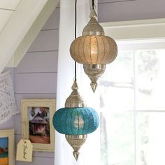 pottery barn TEEN moroccan pendant: summer time is time to re-do your teens bedroom! # POTTERY BARN