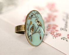 Vintage Bird Ring