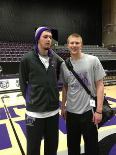 2012-2013 Sean Young of UCA and Jacob Parker of SFA.