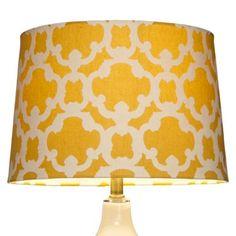 Threshold™ Flocked Lamp Shade - Large