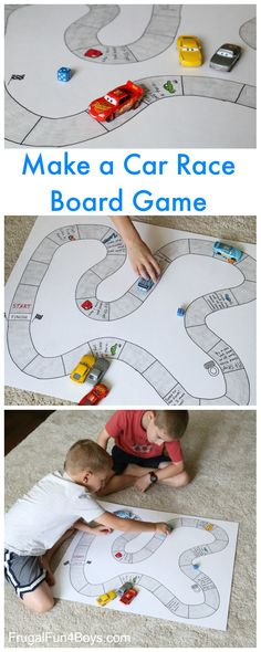 Hold your own Grand Prix with toy cars and a homemade board game!  My kids have been playing with all of their die cast Cars movie vehicles after watching Cars 3 in the theater.  It's always fun when old toys become new again, although we did buy a few of the new characters too.  You …