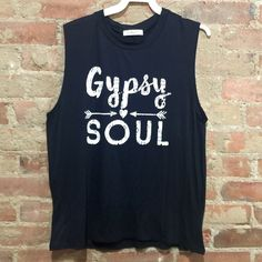 Gypsy Soul Design Tank Super cute tank that is a very soft material. It is 95% rayon & 5% spandex. Tops Tank Tops