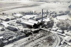 Provista por: Diego Cupolo. Fecha: 1950 circa. La Central Roig. (1887-1981) Imagen aérea.