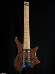 Strandberg headless 8 string guitar. Love Strandberg's style.