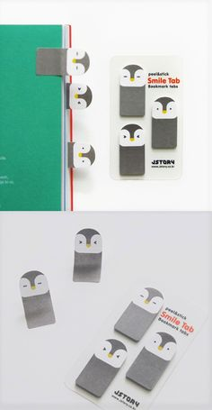 These cuties will pep up your books, notebooks, planners and any item you apply these lovely penguins on! They can be used for indexing, bookmarking or leaving a short note!
