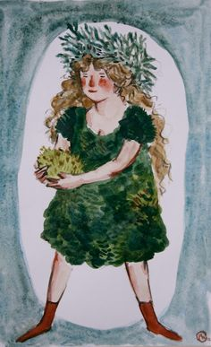 moss maiden @Sarah Chintomby Chintomby Green