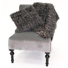 Mottled Fur Faux Fur Range - Bed Bath & Beyond