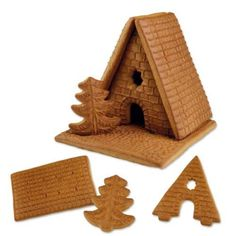 #3161 Gingerbread House set for self assembly