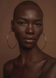 Pretty People, Beautiful People, Model Tips, Photographie Portrait Inspiration, Dark Skin Makeup, Photoshop, Brown Skin Girls, Black Girl Aesthetic, Interesting Faces