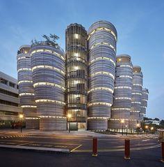 Concluída a Construção do Edifício Colmeia de Singapura