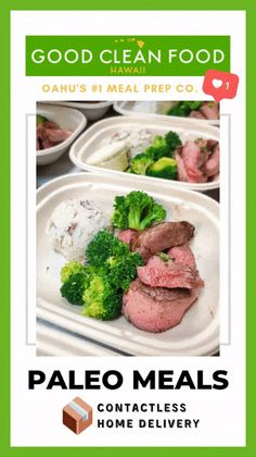 paleo diet meal delivery hawaii