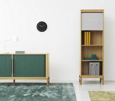 Day Wall Clock Normann Copenhagen Jalousi Cabinet - available at Crioll Interior Studio & Design Shop, Eindhoven