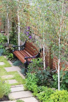 Top 10 best trees for small gardens - Living Colour Gardens garden trees Small Trees For Garden, Small Cottage Garden Ideas, Cottage Patio, Small Garden Design, Small Garden Plans, Plants For Small Gardens, Small City Garden, Small Back Gardens, Tree Garden