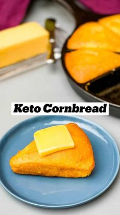 Low Carb Bread, Keto Bread, Low Carb Keto, Low Carb Recipes, Keto Cornbread Recipe, Quick Family Dinners, Ketones Diet, Brunch, Keto Bagels