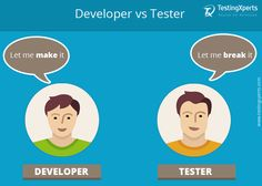 #Developers & #testers are always in a battle. A developer will always create an application and a tester would always love to break it.  #TestingXperts #SoftwareTesting #QATesting