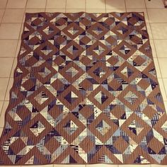 Gorgeous Zed's quilt made by Shayna Shipley.