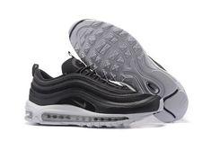 384543ed82447 Nike Air Max 97 Oreo Black White 505802.010 Official 2018 Shoe Cheap Nike  Air Max,