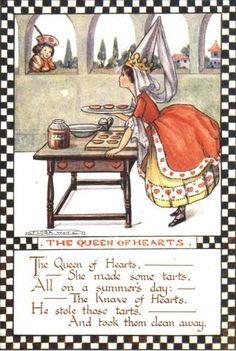 The Queen of Hearts ~ Alice in Wonderland
