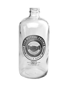 OUR MUTUAL FRIENDS mini growler