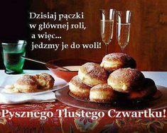 Polish Breakfast, Weekend Humor, Good Sentences, Good Morning, French Toast, Muffin, Food, Thursday, Roman