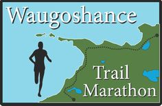 Definitely want to do this trail run from Cross Village to Mackinaw City, Michigan. This country can take credit for providing my first real sense of place. Something to treasure and return to - in what better way than running?