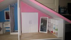 Barbie, Stairs, Loft, Bed, Furniture, Home Decor, Ladders, Homemade Home Decor, Stream Bed