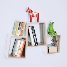 Cube Shelves, Wall Shelves, Shelf, Bookends, Design, Home Decor, Shelving, Decoration Home, Room Decor