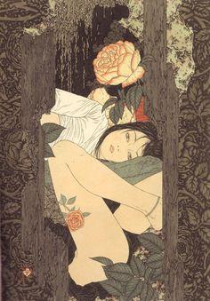 A arte de Takato Yamamoto / Bia Reys