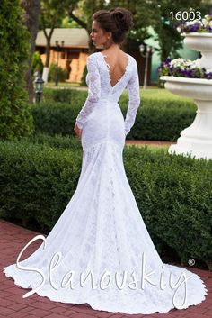 Design 16003 from Slanovskiy collection #slanovskiy #weddingdress #gown