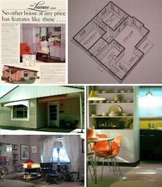 Lustron | Historic kit homes | Prefab house | Post war housing | Factory built thru the years | 1948