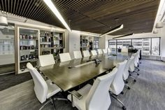 Marini task chairs in a boardroom of the Ignite office in Chicago