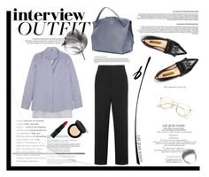 """60-Second Style: Job Interview"" by krischigo ❤ liked on Polyvore featuring Louis Vuitton, Rupert Sanderson, ADAM, Jil Sander, Chloé, Bobbi Brown Cosmetics, jobinterview and 60secondstyle"