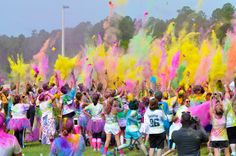 Officially signed up for my first COLOR ME RAD 5K in Yuma, AZ. April 6th 2013.  Let the games begin!