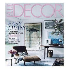 COLLAGE || A ton of inspiration from the art collage on the cover of Elle Decor... #InteriorDesign #Design #Luxury #Interiors #InteriorDecoration #HomeDecor #Elle #ModernDesign #Art #Decor