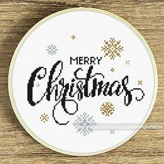 Tittle: Christmas snow This PDF counted cross stitch pattern available for instant download. Skill level: Beginner. Floss: DMC. Hoop: 8 inches SIZE: Design Area: 80h x90w stitches. Area of embroidered image 5.8 x 6.5 inches if you use 14-count Aida cloth You can frame this