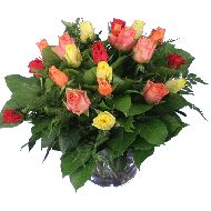 Mixed roses bouquet  From: € 14.95