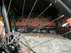 Cube mtb graffiti wheel spokes