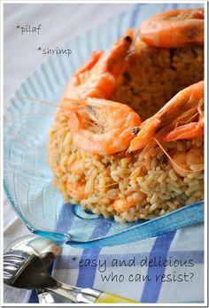 Μα...γυρεύοντας με την Αλεξάνδρα: Γαριδοπίλαφο Fish And Seafood, Cantaloupe, Risotto, Shrimp, Sea Food, Vegetarian, Fruit, Cooking, Ethnic Recipes