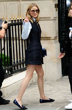 Olivia Palermo fashion style during Haute Couture Fashion Week FW16 Paris.