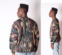 Vintage Cosby Sweater  Coogi Style Sweater  Vintage by EmmettBrown, $58.00