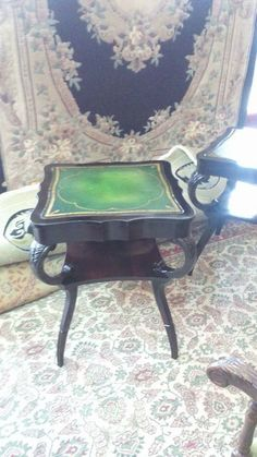 France leather cover coffee table