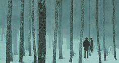 Javier Bardem in Biutiful (2010, dir Alejandro González Iñárritu). Production Design Brigitte Broch. Art Direction Marina Pozanco. Set Decoration Laura Musso.